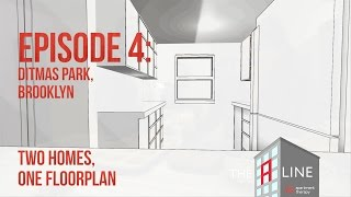 Living Room Vs. Dining Room Centered Floor Plan: Apartment Therapy's The A Line, Episode 4