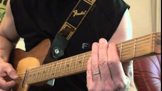 Florida Cracker Guitar Tips - The Rubberband Man - The Spinners cover