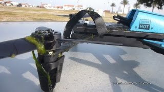 Parrot Bebop Drone survived a dive into the water