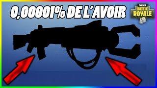 L'ARME LA PLUS RARE SUR FORTNITE !! (0,00001% DE CHANCE DE L'AVOIR) FORTNITE BATTLE ROYALE
