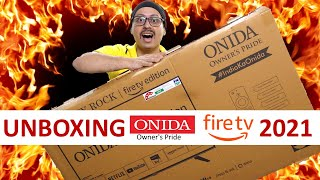 Onida Fire TV Edition 43 Inch Unboxing and Initial Review Onida Fire TV Edition 2021