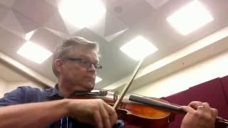 Sinfonia in D Major I. Alegro assai viola part.