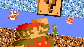 Mario's Powerup Calamity Collection | Mario Animation