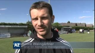 Oberliga-Derby: SV Alemannia Waldalgesheim - SV Gonsenheim
