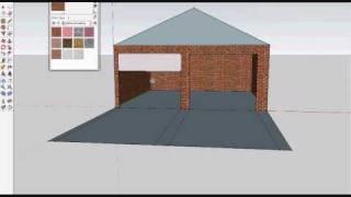 How To Make A Garage Using Google Sketchup