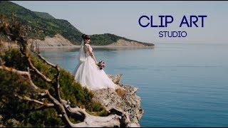 Свадьба у моря. Встреча и прогулка молодоженов