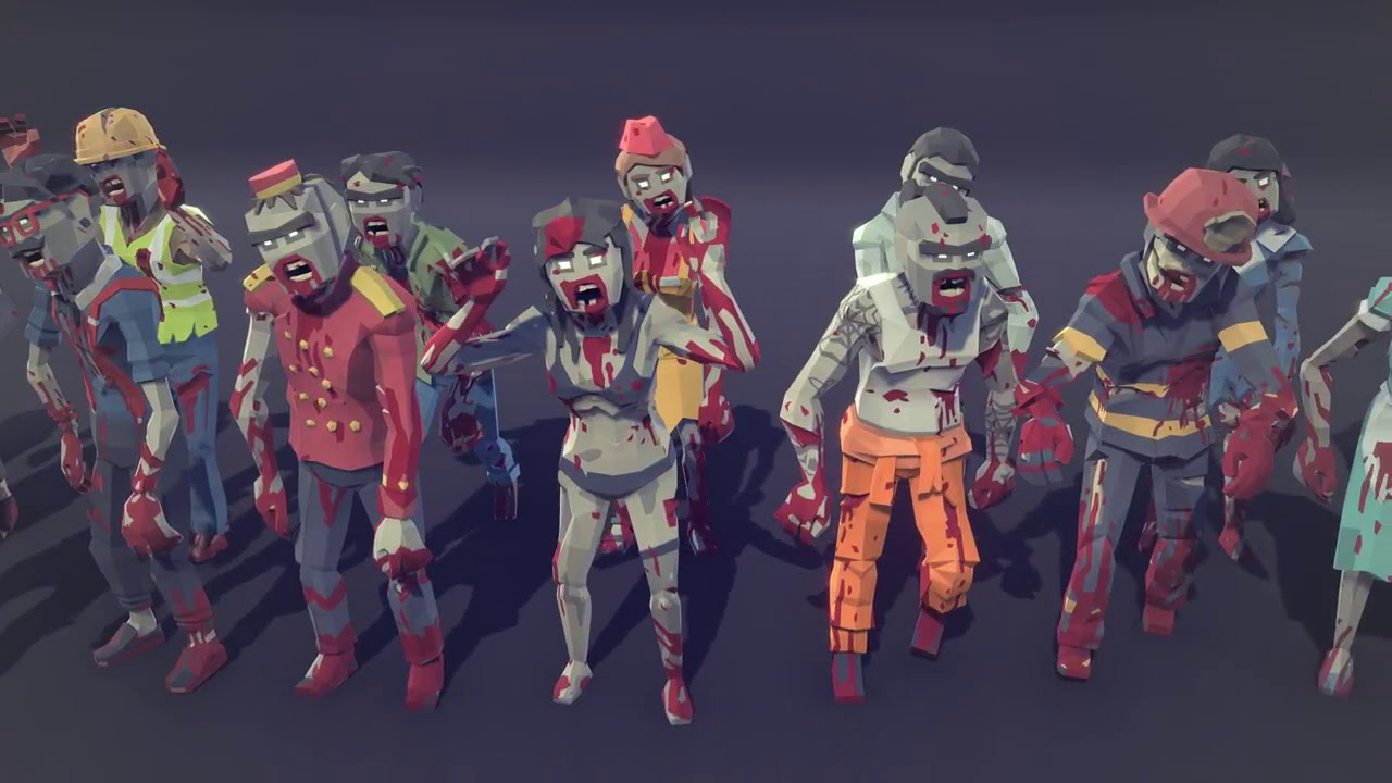 Unity Asset Store Pack - POLYGON - City Zombies (Download link below)