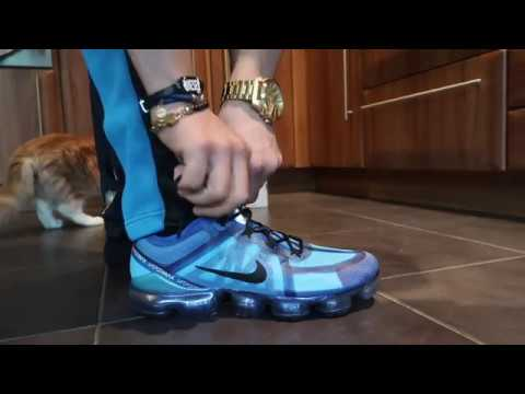 0a5b4158622f0 NIKE AIR VAPORMAX 2019 BLUE (REVIEW