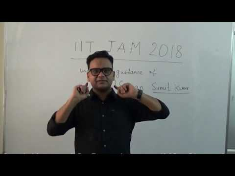 IIT JAM @Admission. #Do_not_compromise_with_your_area_of_Interest...