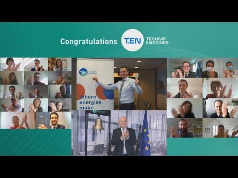 Technip Energies lists on Euronext Paris