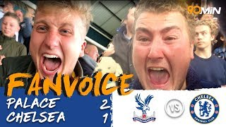 Crystal Palace 2-1 Chelsea | Zaha scores to give Palace their first win! | FanVoice