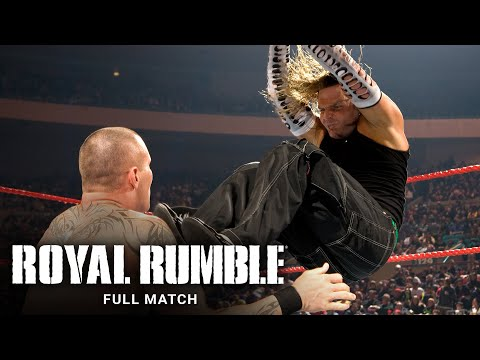 FULL MATCH - Randy Orton vs. Jeff Hardy – WWE Title Match: Royal Rumble 2008