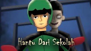 Hantu dari Sekolah - Cerita Gojek | Kartun Hantu & Animasi Horror Seram Indonesia - Rizky Riplay