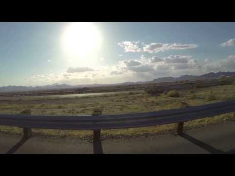 From Ajo to the Agua Fria River, Avondale, Arizona, Driver's View, 24 April 2015
