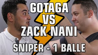 GOTAGA vs ZACK NANI - SNIPER 1 BALLE : BIOLAB = J