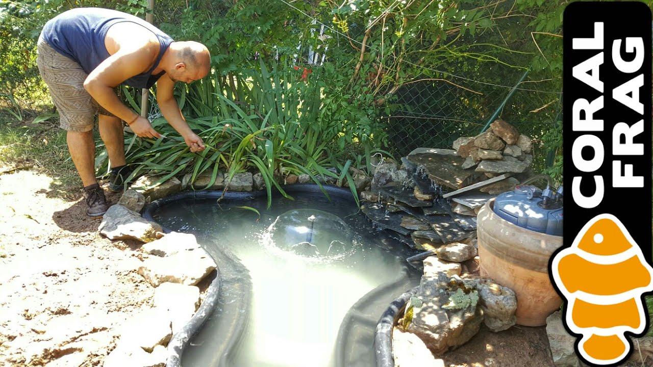 C mo hacer un estanque de pvc 2 parte doovi for Estanques de pvc