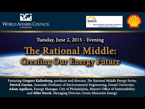 The World Affairs Council of Philadelphia Presents The Rational Middle