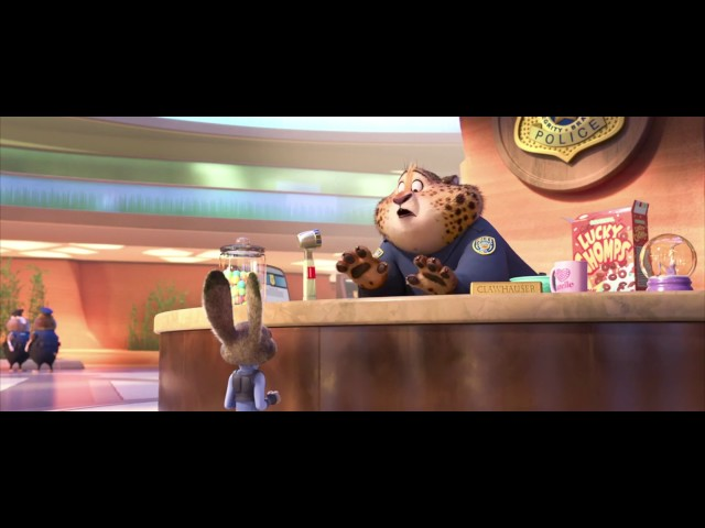 Zootopia: New Hire - Tappable Pictionary with Basic Nouns