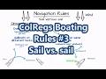 ColRegs Boating Rules #3 - Sail vs. sail | Sail Fanatics