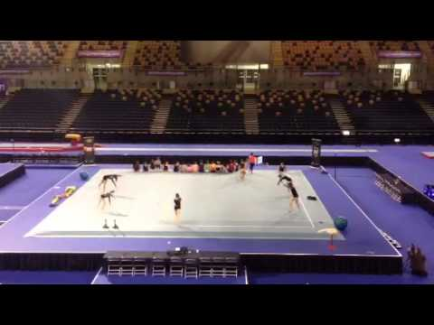 Gymnastics at emirates arena