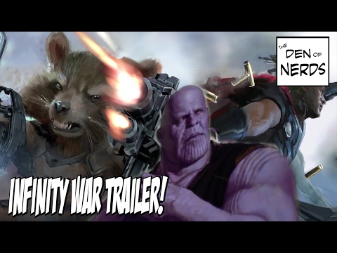 QUICKIE: Marvel Drops New Avengers Infinity War Trailer On Facebook?