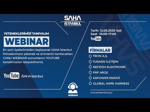 SAHA İstanbul Elektrik Elektronik Komitesi 1 Canlı Yayını