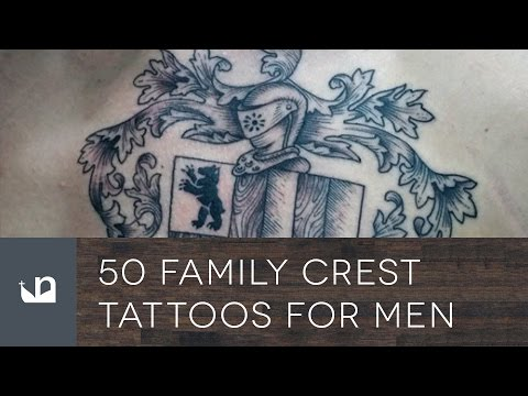 50 Family Crest Tattoos For Men