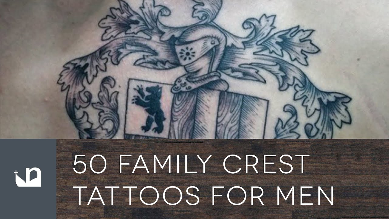 Tattoo Designs Family Crest