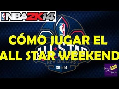 NBA 2K14 Cómo jugar el All Star Weekend 2014
