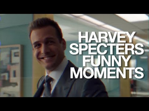 Suits Bloopers // Harvey Specter Funny Moments