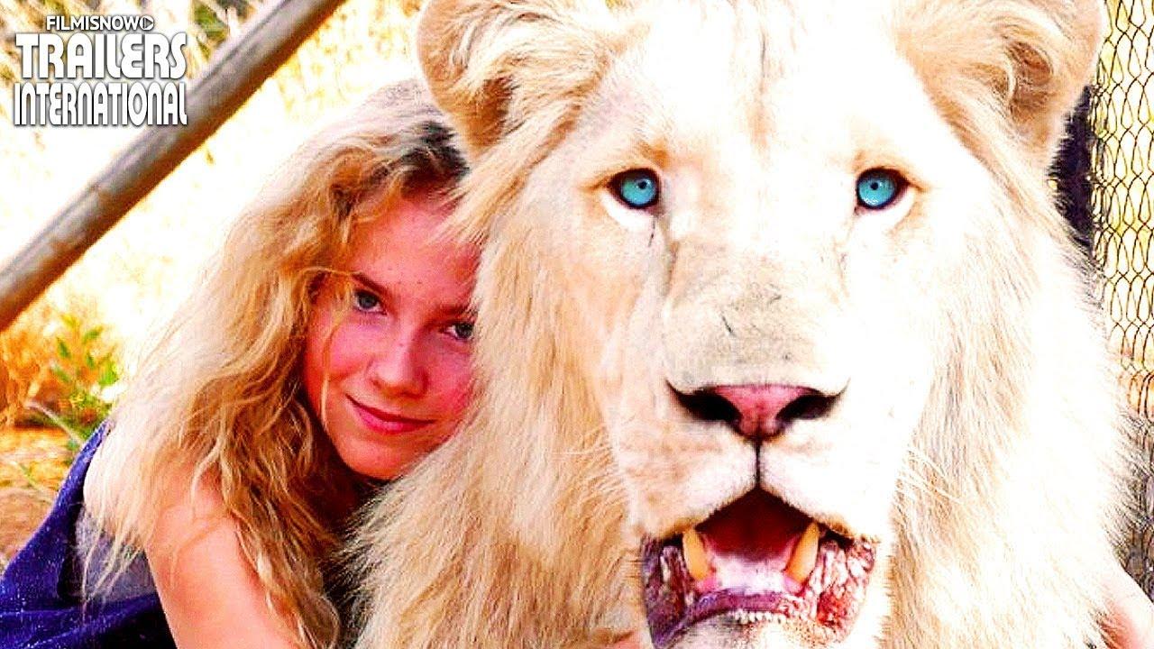 A MENINA E O LEÃO (Família 2019) | Trailer do filme sobre amizade entre garota e leão branco.
