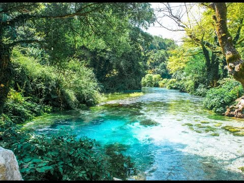Wonderful springs of Blue Eye near Saranda - Part 1
