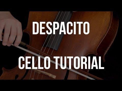 Cello Tutorial: Despacito