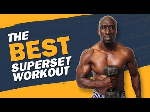 Upper Body Metabolic SuperSet Workout