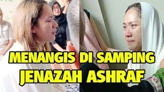 Video Bunga Citra Lestari Menangis di Samping Jenazah Ashraf Sinclair, Bikin Hati Teriris