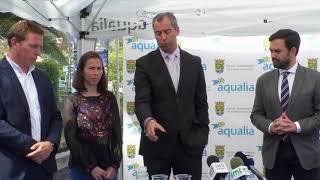 Presentación campaña de concienciación retirada de residuos en canalizaciones de agua potable
