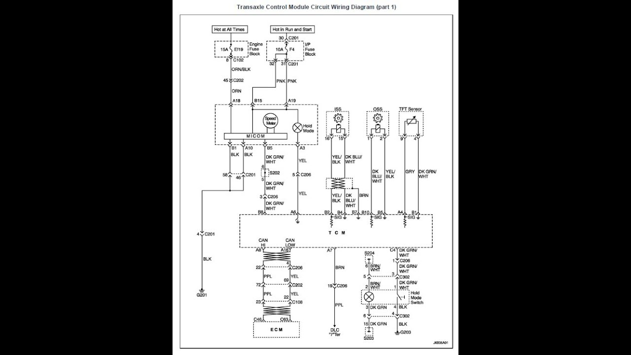 Suzki Forenza Transmission Range Sensor Diagrams - Part 2