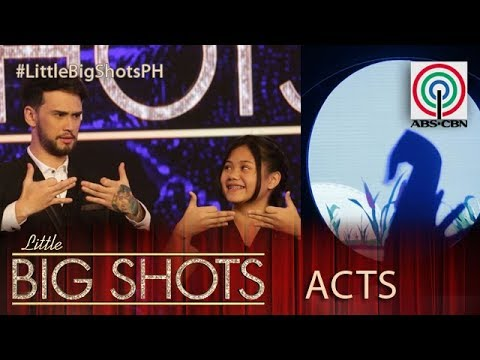 Little Big Shots Philippines: Princess | 13-year-old Hand Shadow Performer