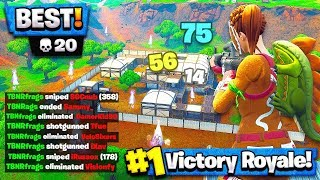 I DROPPED 20 KILLS vs SypherPK & FaZe Jaomock! (My highest kills in Fortnite: Battle Royale)