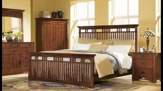 Solid Oak Bedroom Design Decorating Ideas