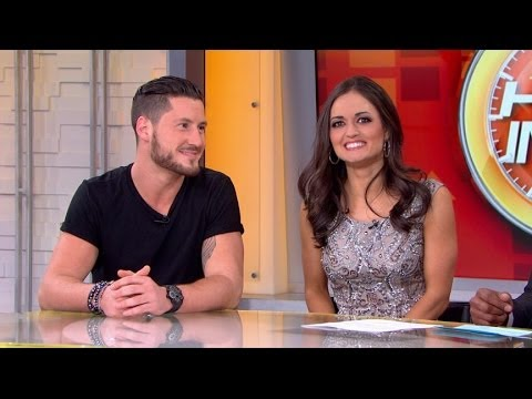 Danica McKellar, Valentin Chmerkovskiy Voted Off 'Dancing With the Stars'