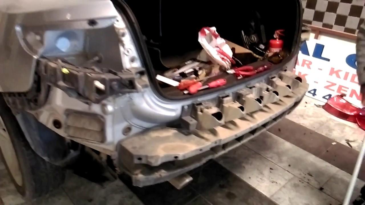 Fluence Yeni Kasa Tampon Far Montajı ve Body Kit İşlemleri 2021/ Fluence Front Bumper Removel