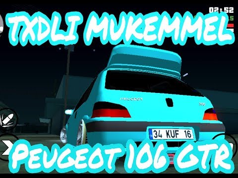 Gta Sa Android Peugeot 106 GTR Txdli(EFSANE)
