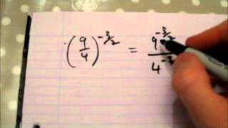 Indices 5 - M๐re Powers of Fractions and Products
