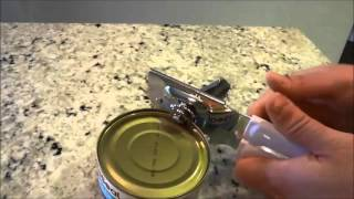 How To Use A Can Opener (Tutorial)
