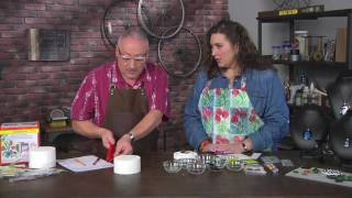 Learn how to melt glass to create jewelry on Make It Artsy with Joe Rotella (202-2)