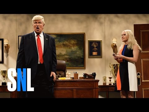Donald Trump Prepares Cold Open - SNL