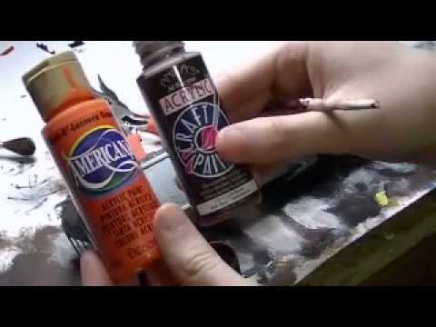 HOW TO:  2 Techniques For Rust Spot Weathering!  (Model Train Weathering)