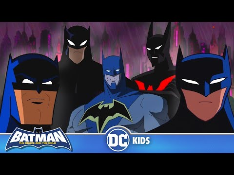 An Animated History of Batman | Batman Day | DC Kids