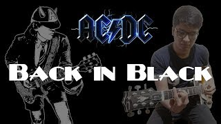 Back in Black - AC/DC - Electric Guitar Cover
